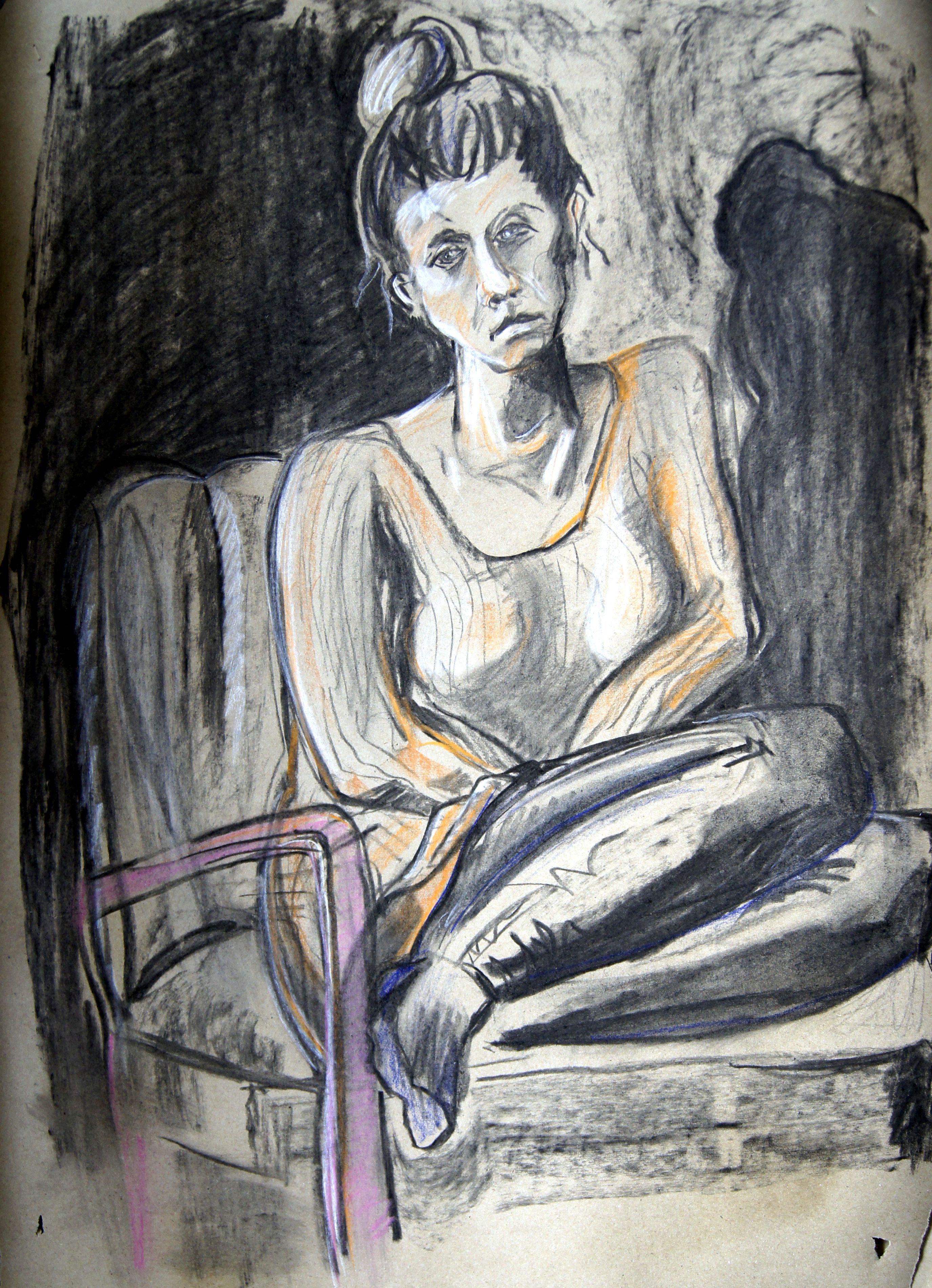 porträttmålning kurs stockholm